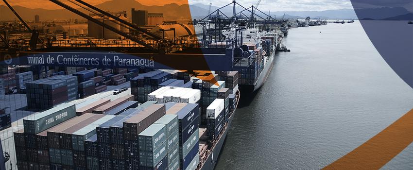 Para 83,3% das operadoras, o Porto de Paranaguá é o melhor do Brasil