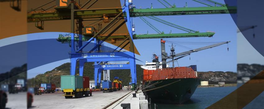 Porto de Imbituba será rota de contêineres da Ásia
