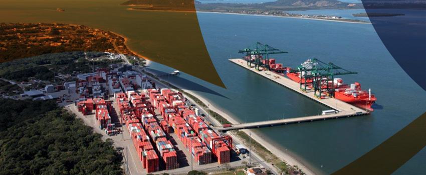 Porto Itapoá cresceu 25% nas importações e 10% nas exportações em 2017